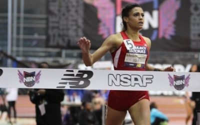 McLaughlin Breaks Own Record to Repeat as 400 National Champion