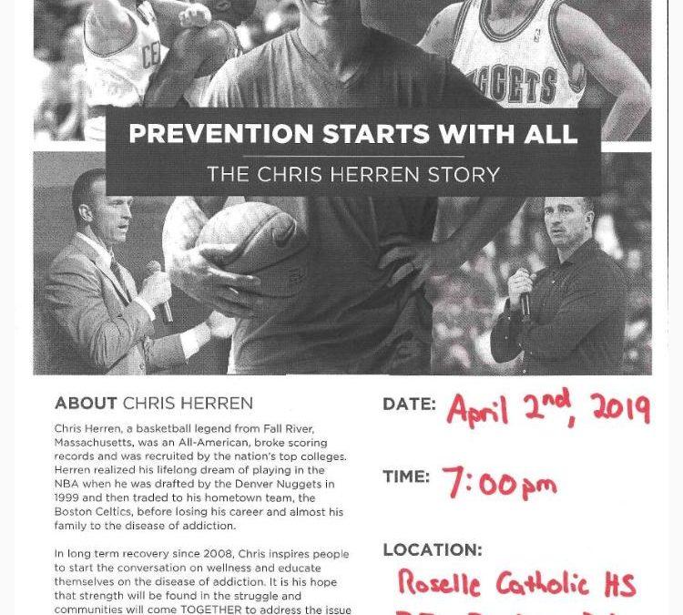 Chris Herren to speak at Roselle Catholic
